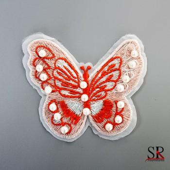 Ecusson papillon 86097