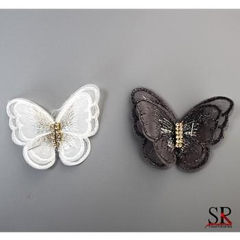 Ecussons papillons 87696
